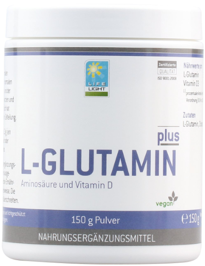 L-Glutamina plus z witaminą D